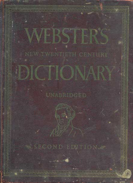 Webster S Dictionary Graphic Design