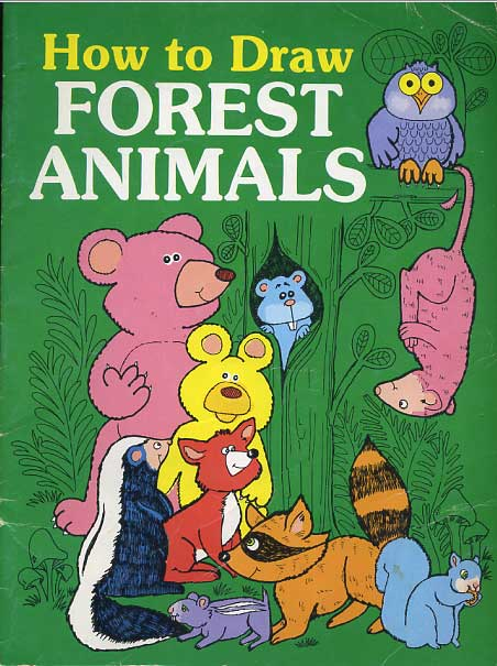 How To Draw Forest Animals ...