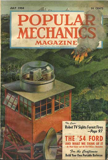 Popular Mechanics July 1954