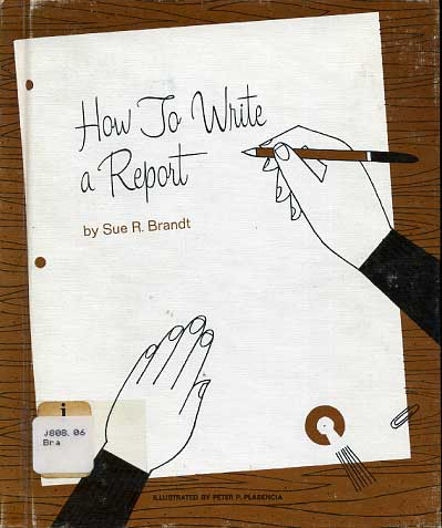 How to write a report,